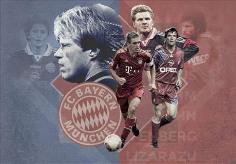 Los 20 mejores de la historia del Bayern