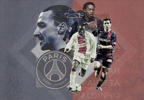 Les 20 meilleurs joueurs de l'histoire du PSG