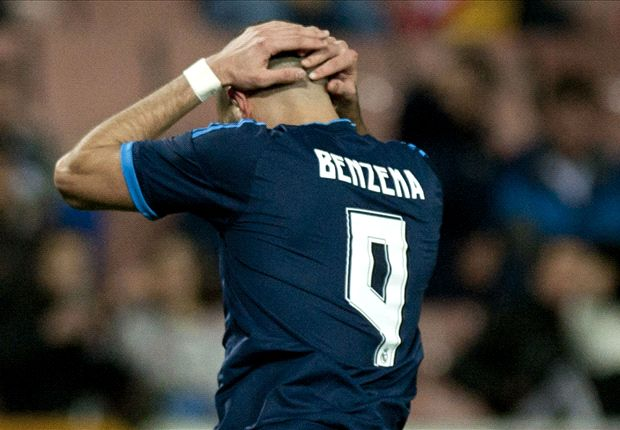 Injured Benzema out of Real Madrid squad