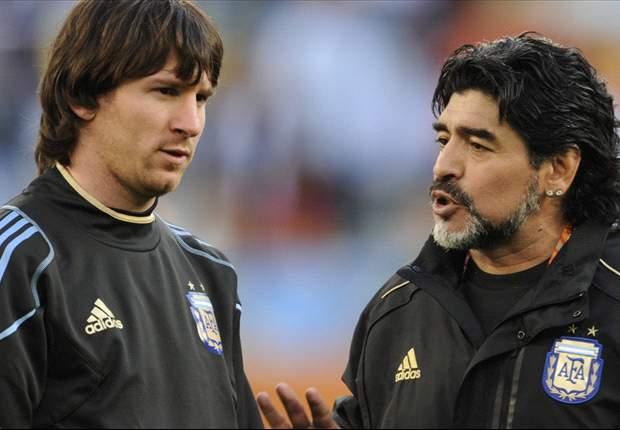 ¿Quién es el más grande? ¿Messi o Maradona?