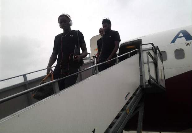 Harambee Stars finally land in Calabar