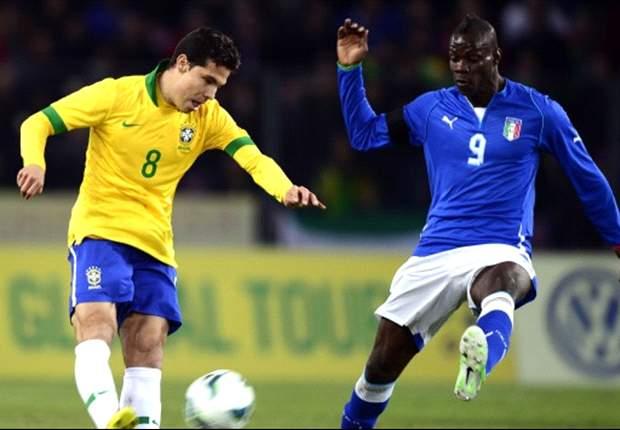 Italia-Brasile 2-2: Carattere Azzurro, De Rossi e un super Balotelli riacciuffano la Seleçao