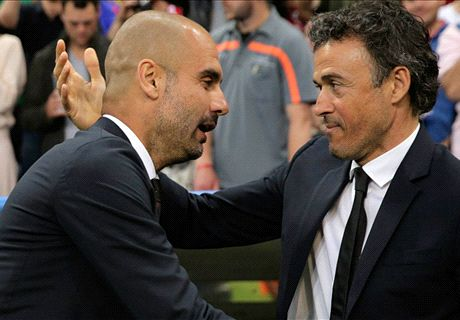 Luis Enrique: Guardiola is not a threat