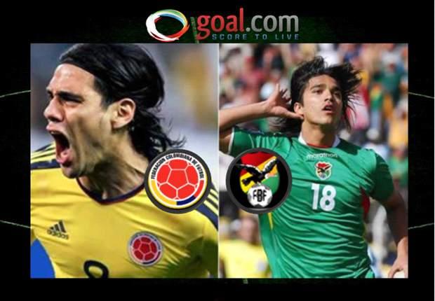 Colombia-Bolivia: Sigue en vivo las Eliminatorias Sudamericanas en Goal.com