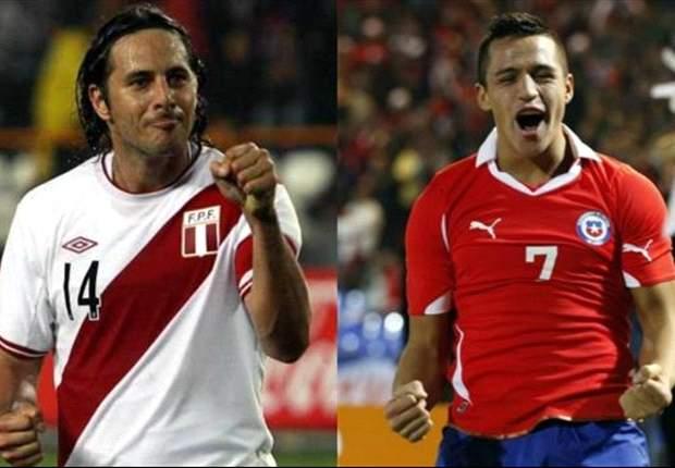 A Perú solo le sirve ganarle a Chile