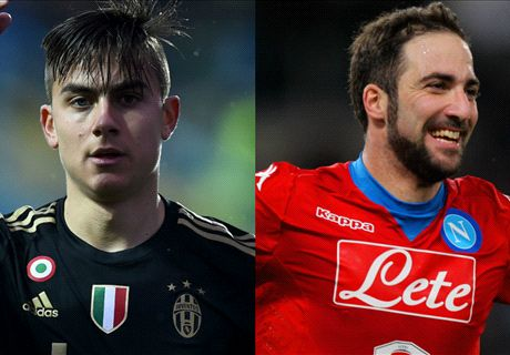 Dybala & Higuain: The stars of Juve-Napoli