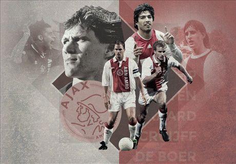 Top 20 Ajax-spelers aller tijden
