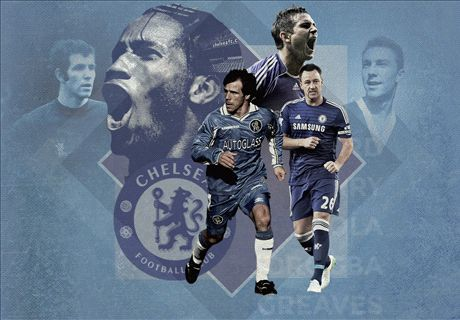 Chelsea's 20 greatest players of all time