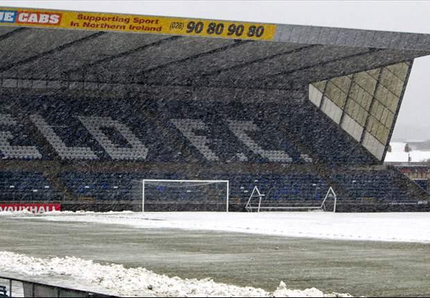 El Irlanda del Norte - Rusia, aplazado de nuevo a causa de la nieve