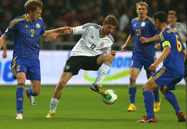 Kazajistán 0-3 Alemania: Schweinsteiger, Götze y Müller firman el paseo en Astana