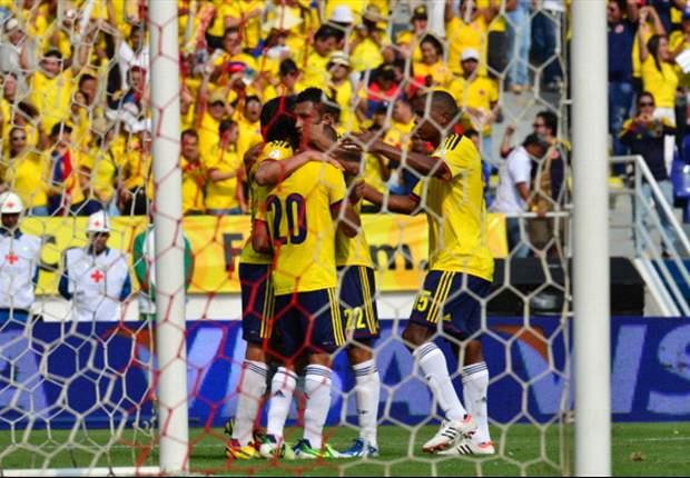 Colombia 5-0 Bolivia: Radamel Falcao marca en la 'manita cafetera'