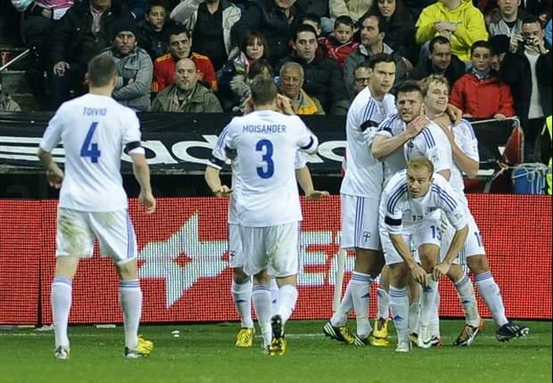 Moisander scoort voor winnend Finland