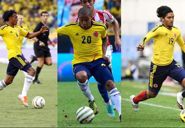 Macnelly Torres, Juan G. Cuadrado y Abel Aguilar, los mejores de Colombia