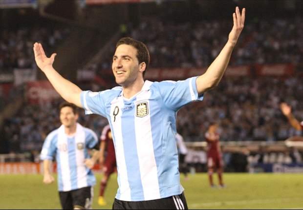 Argentina acaricia Brasil 2014