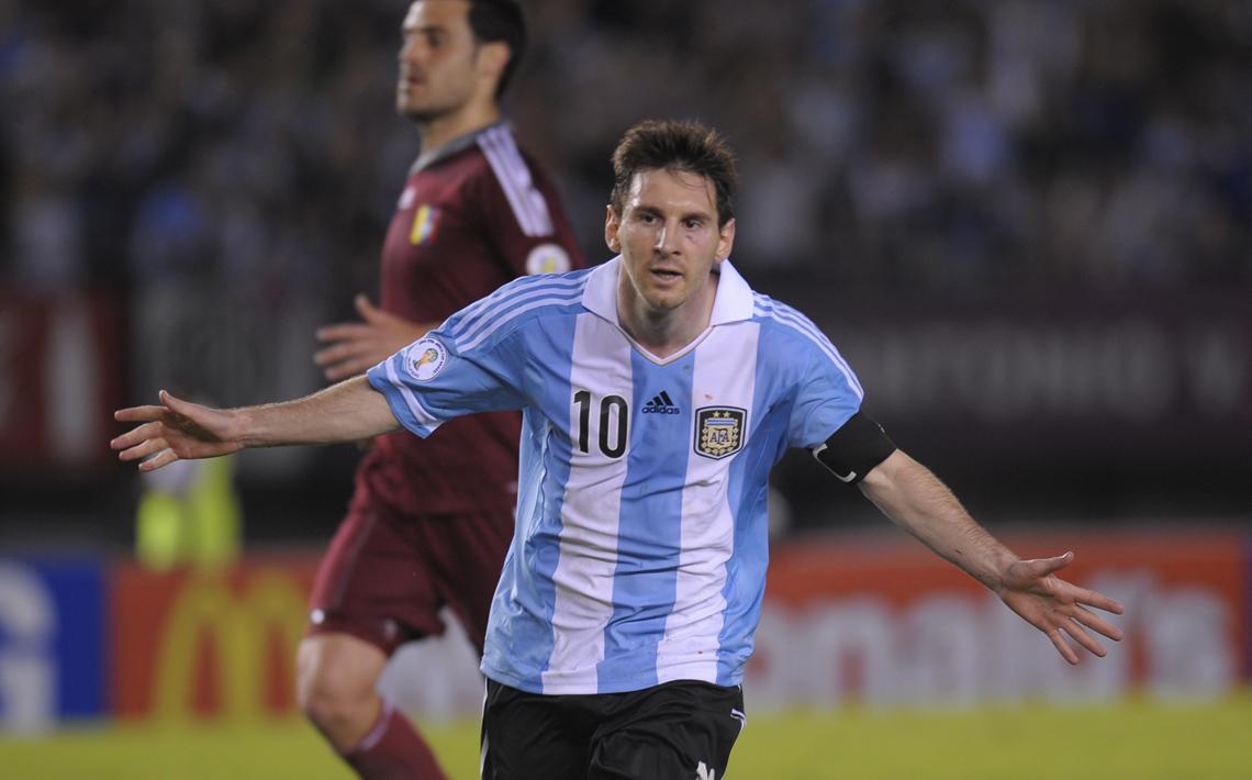 FOTOGALERÍA: Argentina 3-0 Venezuela