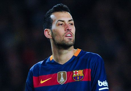 Busquets is untouchable at Barcelona