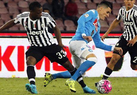 Juve-Napoli: sui 'conti' è finita 3-2