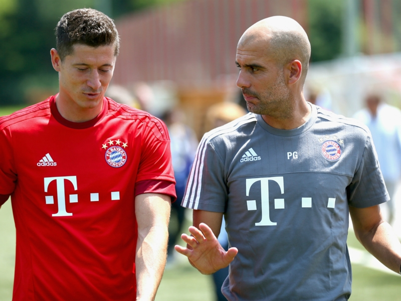 Guardiola hails Lewandowski professionalism amid Real Madrid and PSG rumors