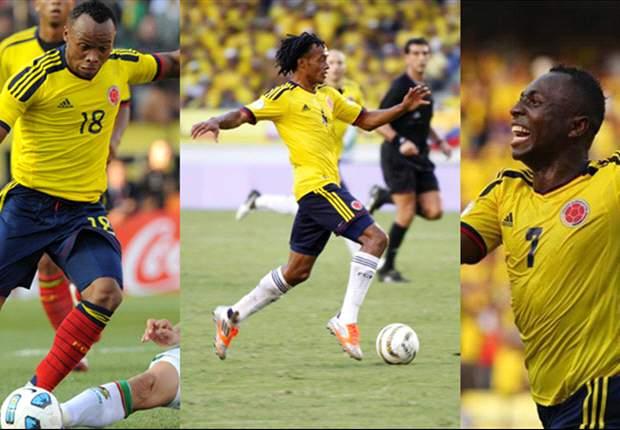 Los mejores laterales de Sudamérica son colombianos