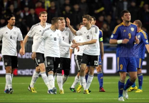 Alemania 4-1 Kazajistán: El Borussia Dortmund se viste de blanco