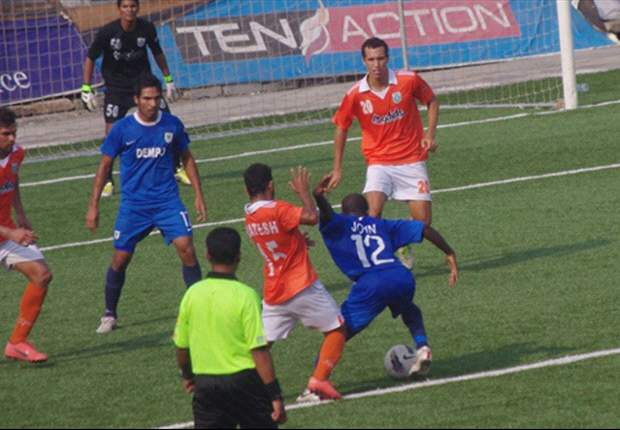 Dempo SC 0-1 Sporting Clube de Goa: The Champions stumble yet again in a lackluster display