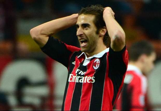 AC Mailands Mathieu Flamini: Erst Tor, dann Rot