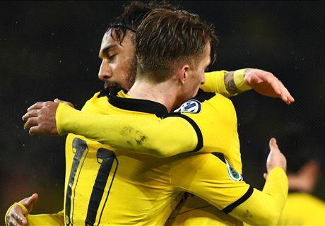 Reus & PEA send Dortmund into semis