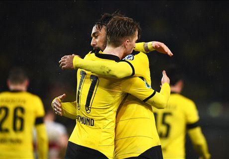 Sterren helpen Dortmund ronde verder