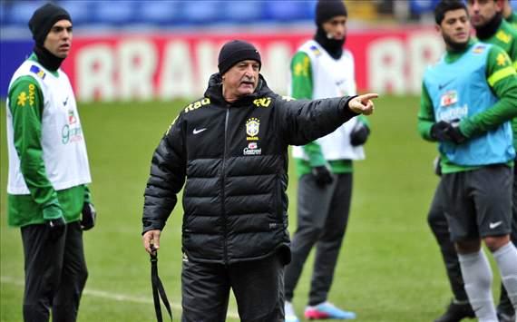 Luiz Felipe Scolari - Treino Brasil