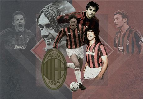 Top 20 Milan-spelers aller tijden
