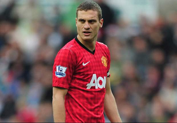 Vidic gives Manchester City duo the cold shoulder ahead of derby