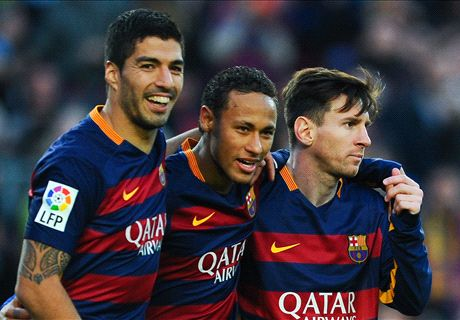 Barca's 'MSN' rested for Valencia clash