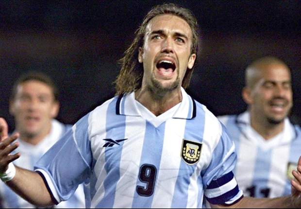 Batistuta: Play with Messi? I don't think so