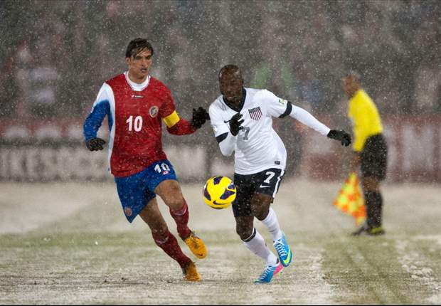 DaMarcus Beasley nervous as he approaches 100th cap