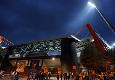 Flooding damages Montpellier stadium