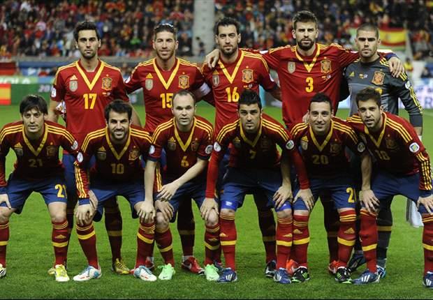 España ante Haití en partido amistoso en Miami