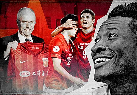 Why the star players choose China