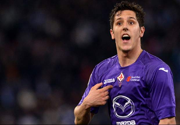 Arsenal target Jovetic feels unloved at Fiorentina, says Toni