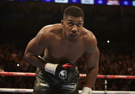 Anthony Joshua to fight... Eric Dier?!