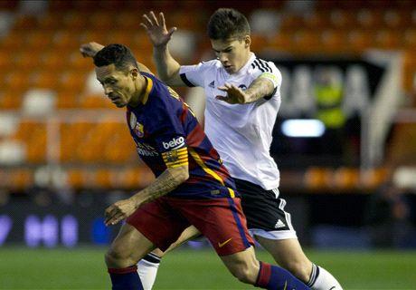 LIVE: Valencia 0-0 Barcelona (0-7 agg.)