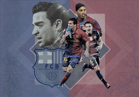 Top 20 jugadores históricos del Barça