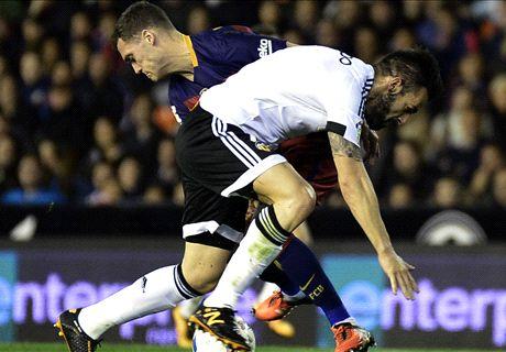 En vivo: Valencia 1-0 Barcelona