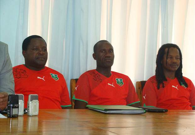 Malawi coach in a past press conference