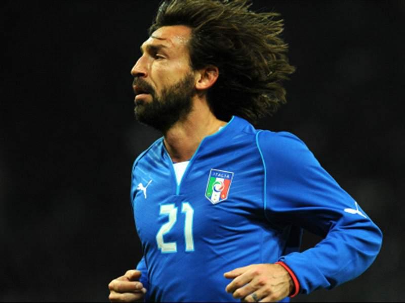 ピルロ、14年W杯でイタリア代表引退