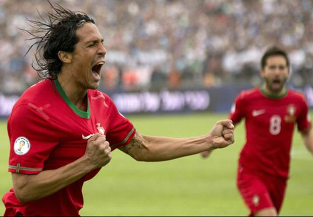 Azerbaijan 0-2 Portugal: Seleccao improve World Cup hopes without Ronaldo