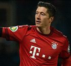 Lewandowski fires Bayern into semis