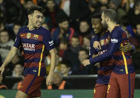 REPORT: Valencia 1-1 Barcelona