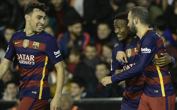 Barca celebrate reaching another final