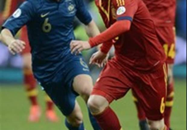 Francia-Spagna 0-1: Pedro mette la freccia, la Roja si prende lo Stade de France e la vetta