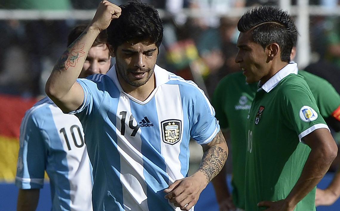 FOTOGALERÍA: Bolivia 1-1 Argentina